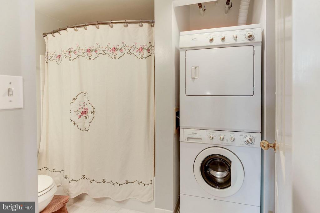 Washer/Dryer - 2400 CLARENDON BLVD #310, ARLINGTON