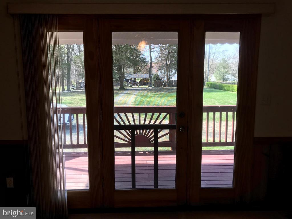 French door to the front porch - 503 WIDEWATER RD, STAFFORD