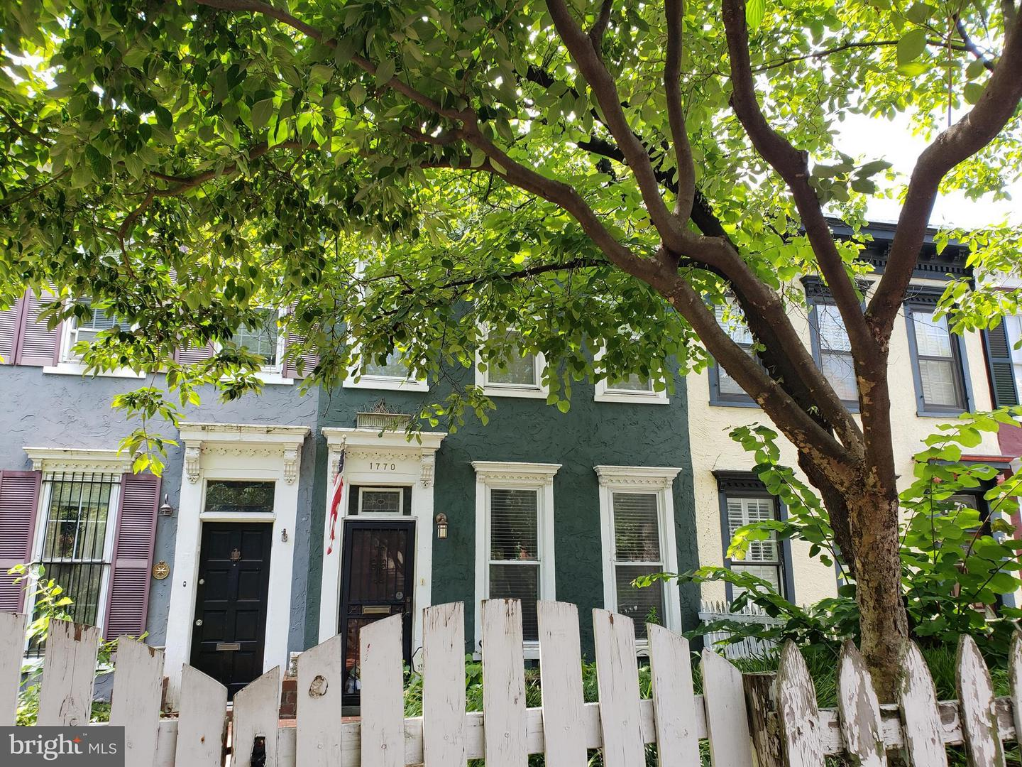 Single Family Home for Sale at 1770 T St Nw 1770 T St Nw Washington, District Of Columbia 20009 United States