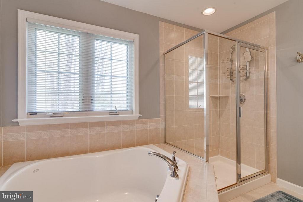Luxury Bath (Master) with Sep Soaking Tub, Shower - 5386 ABERNATHY CT, FAIRFAX