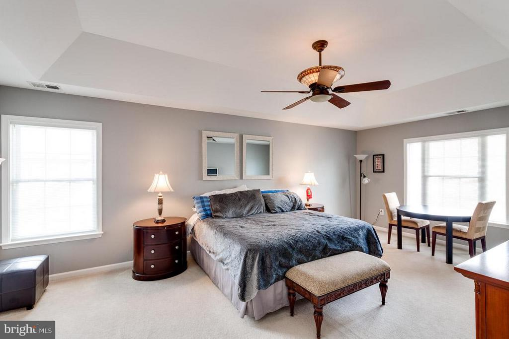 Expansive Bedroom (Master) with Deep Tray Ceiling - 5386 ABERNATHY CT, FAIRFAX