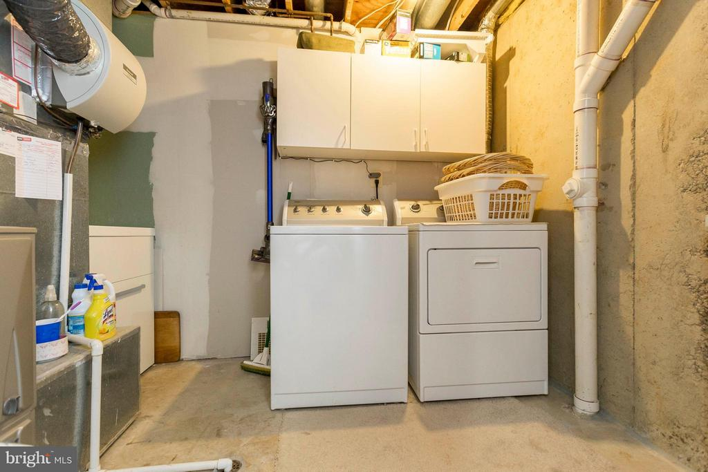 Basement laundry/utility room - 3687 WERTZ DR, WOODBRIDGE