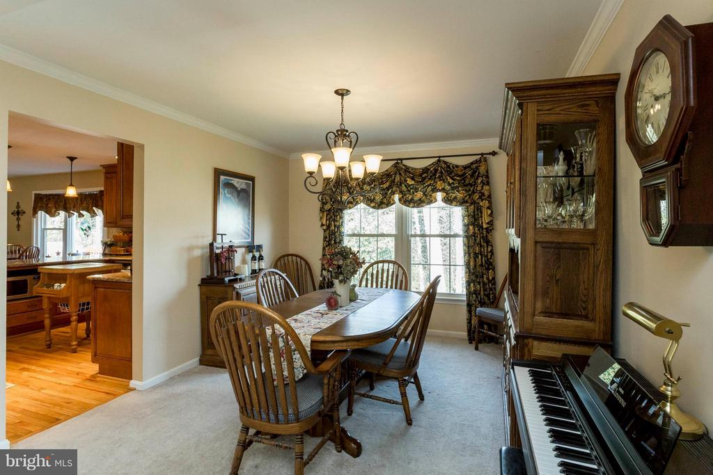 Separate dining room - 3687 WERTZ DR, WOODBRIDGE