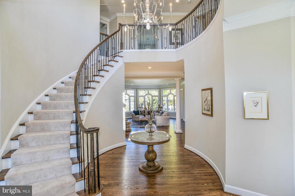 A Model Home Foyer Pictured - HARLEY ROAD HOME SITE 5, LORTON