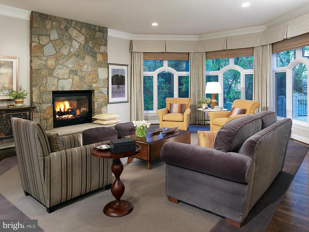 Model Home Pictured / Family Room - HARLEY ROAD HOME SITE 5, LORTON