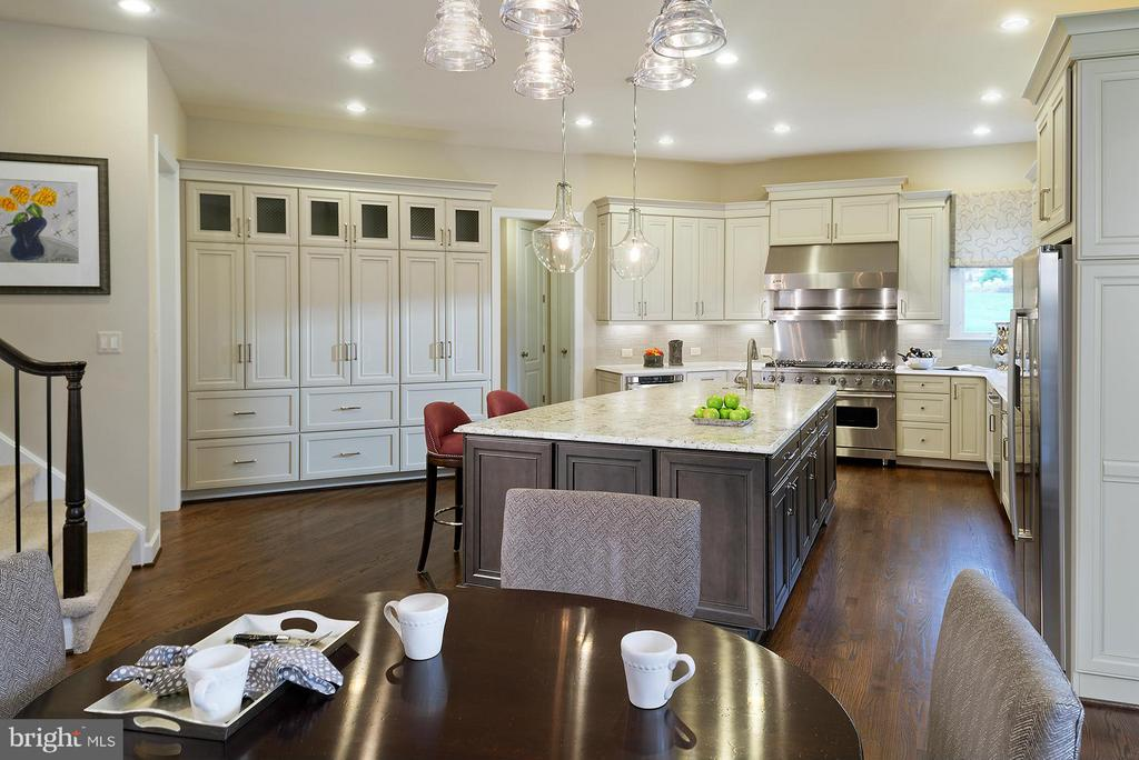 A Model Home Kitchen Pictured - HARLEY ROAD HOME SITE 5, LORTON