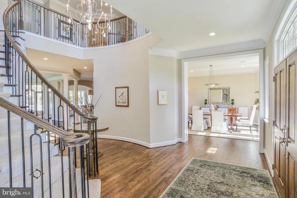 A Model Home Grand Foyer Pictured - HARLEY ROAD HOME SITE 5, LORTON