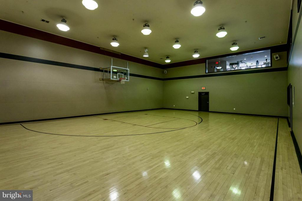 Basketball court in clubhouse - 9480 VIRGINIA CENTER BLVD #221, VIENNA