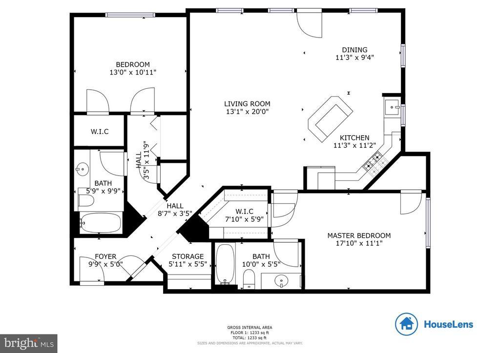 Floor plan - 9480 VIRGINIA CENTER BLVD #221, VIENNA