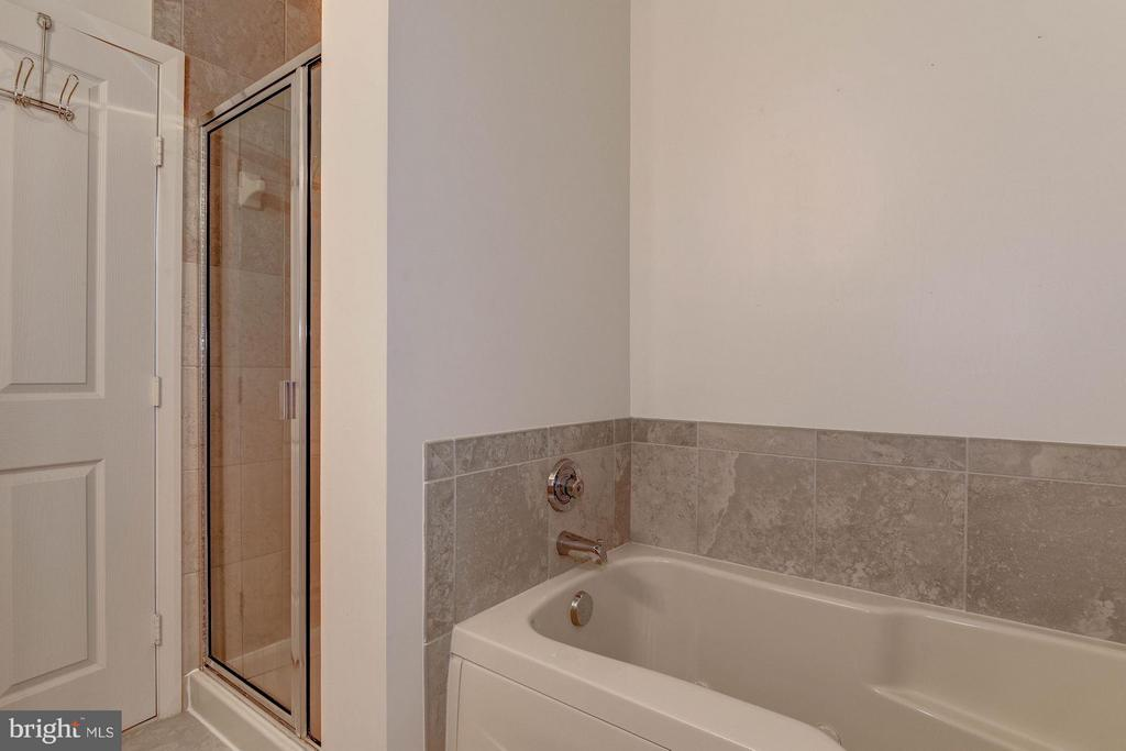 MASTER BATHROOM w/ SEPARATE SHOWER and BATH TUB! - 1201 GARFIELD ST N #216, ARLINGTON