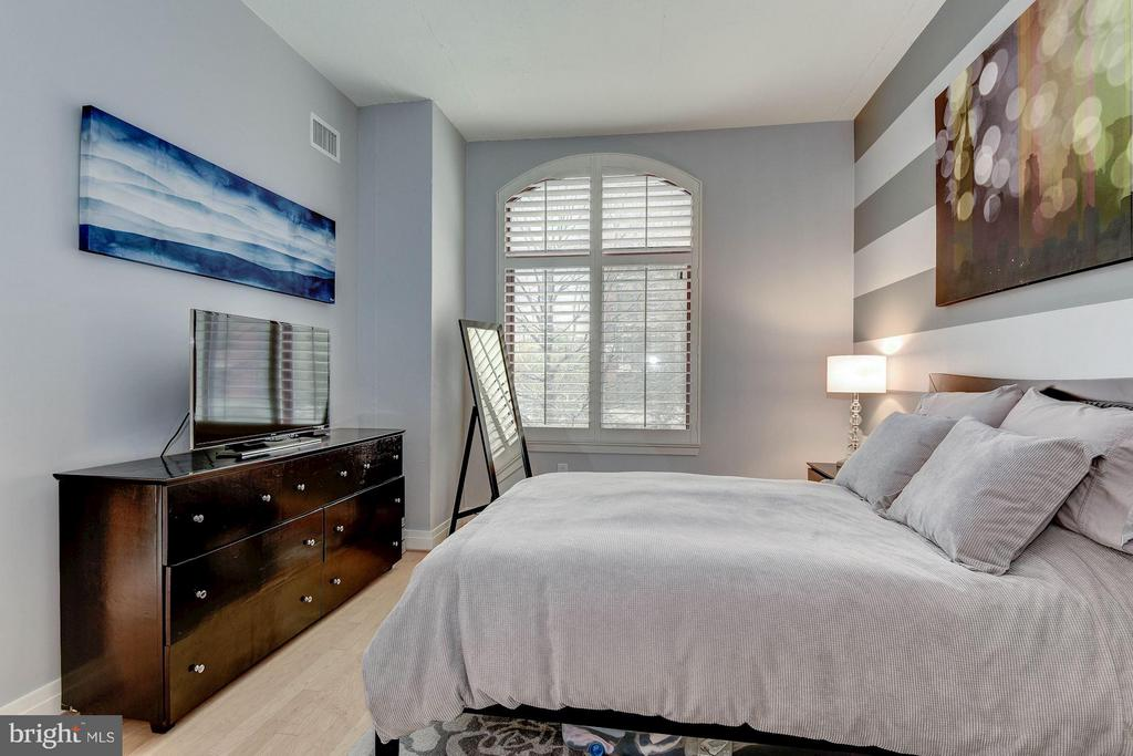 MASTER BEDROOM - HUGE WINDOWS! - 1201 GARFIELD ST N #216, ARLINGTON