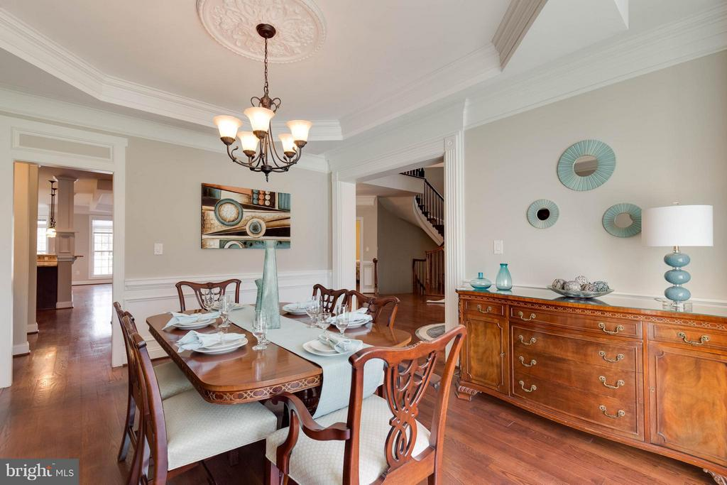 Formal Dining Room - 5521 CLIFTON RD, CLIFTON