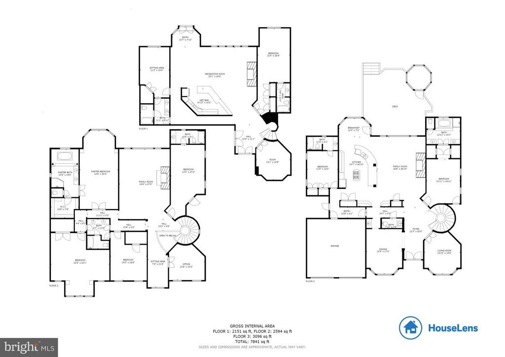 Floor Plan - 5521 CLIFTON RD, CLIFTON
