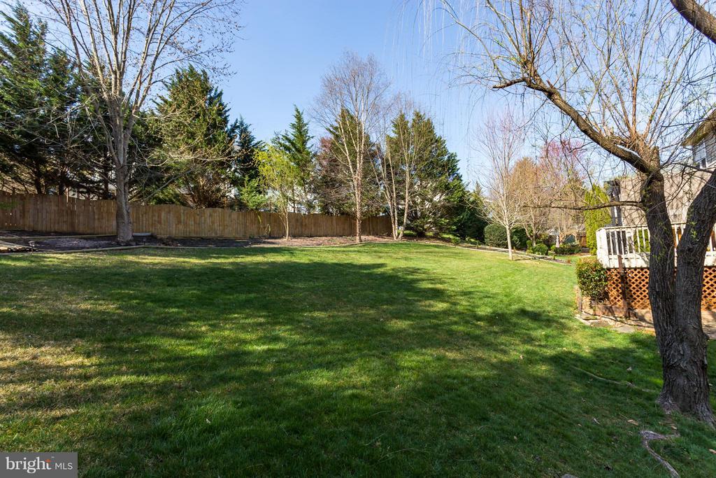 Lawn, Fence - 25 BLUE SPRUCE CIR, STAFFORD