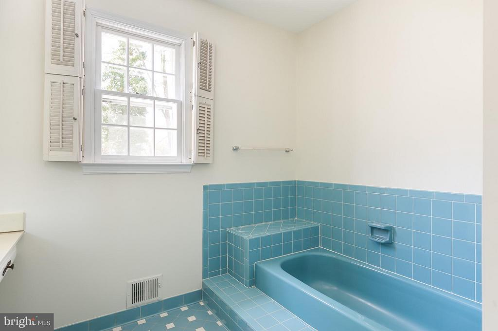 Master BA w/ 2 Vanities, Soaking Tub & Shower - 8029 OLD DOMINION DR, MCLEAN