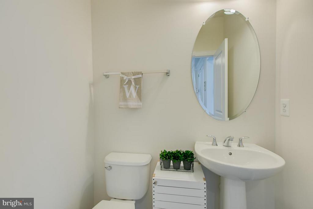 Half bath at front of the home :-) - 397 PEAR BLOSSOM RD, STAFFORD