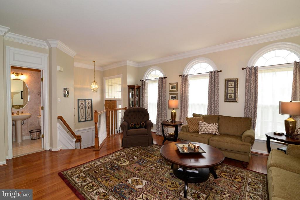 Spacious living room perfect for entertaining... - 44019 LORDS VALLEY TER, ASHBURN