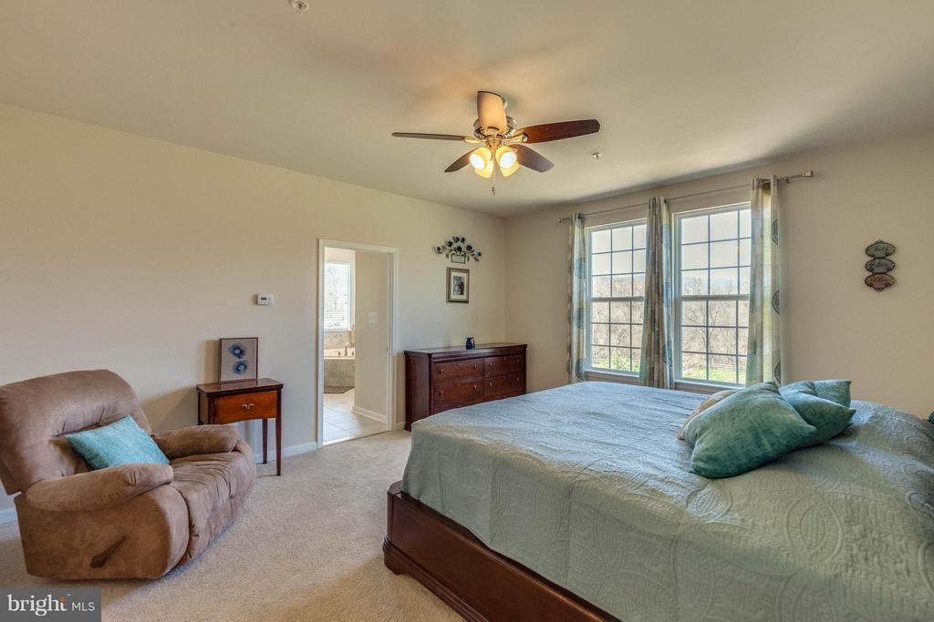 Ensuite Master with Fan, Two oversized windows - 1018 HUNTERS KNL, MYERSVILLE