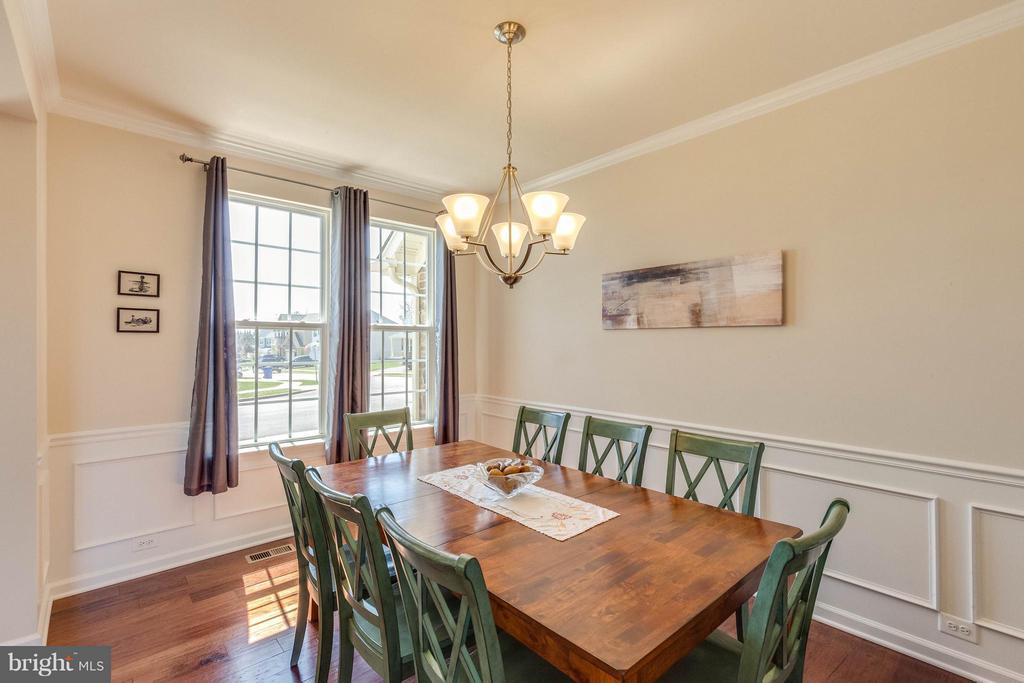 Dining Room features detailed mouldings - 1018 HUNTERS KNL, MYERSVILLE