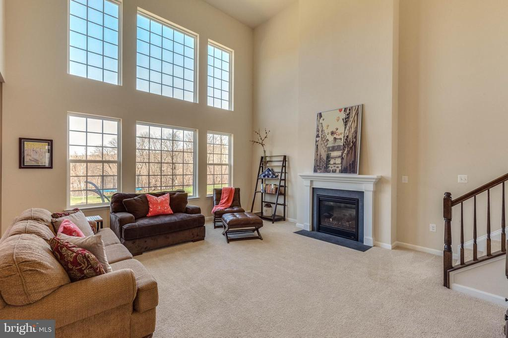 Two story FR w Wall of Windows w Spectacular Views - 1018 HUNTERS KNL, MYERSVILLE
