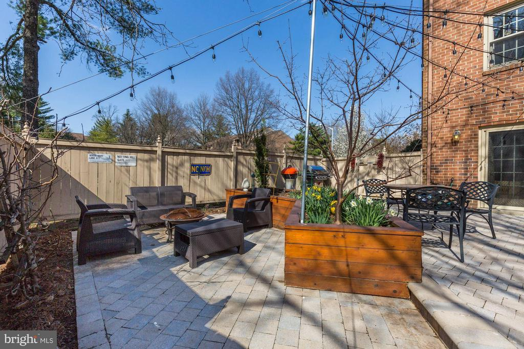 Private Patio (2 of 3) - 5832 EDSON LN, ROCKVILLE