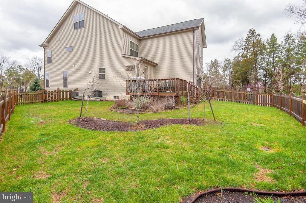 Fully fenced-in yard. Great for pets! - 42709 ASHBURN TILLETT DR, BROADLANDS