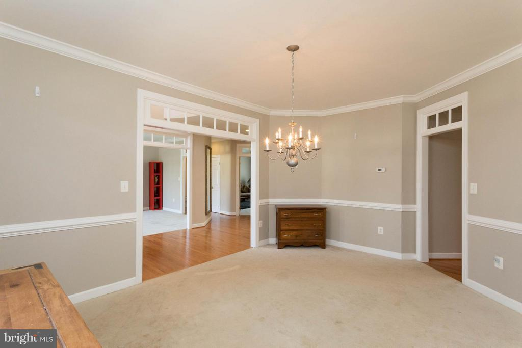 Dining Room - 18621 KERILL RD, TRIANGLE