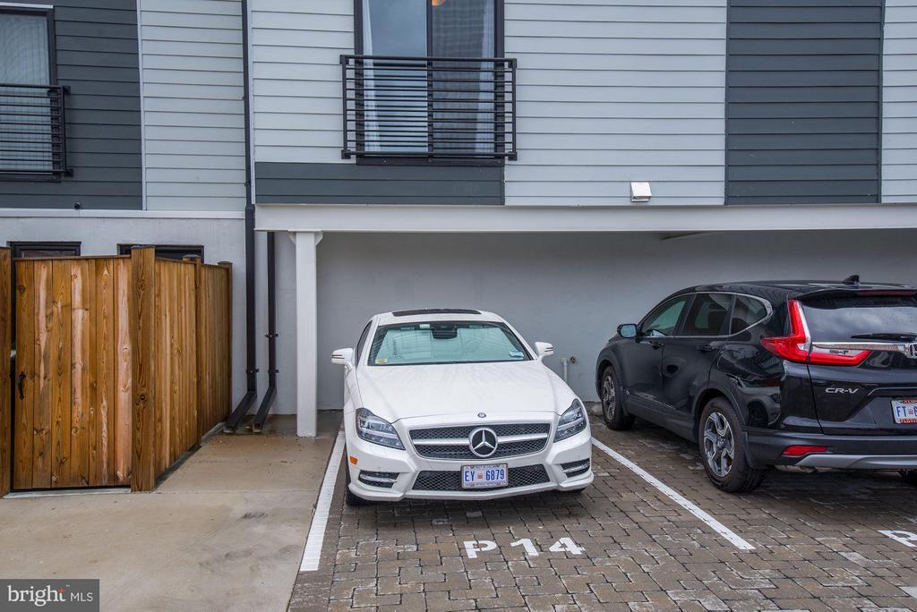 Exterior (Rear) - 2724 12TH ST NE #9, WASHINGTON