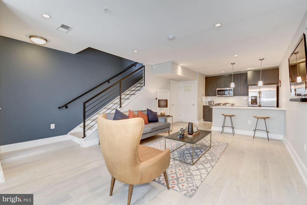 Living Room - 2724 12TH ST NE #9, WASHINGTON