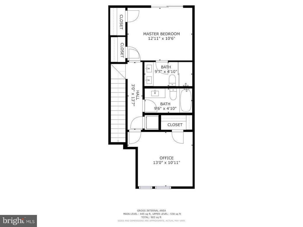Interior (General) - 2724 12TH ST NE #9, WASHINGTON