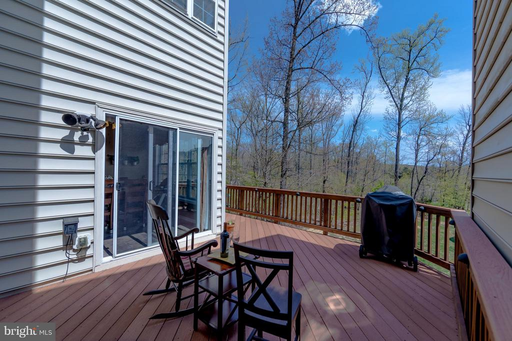 Deck View - 6655 SCOTTSWOOD ST, ALEXANDRIA