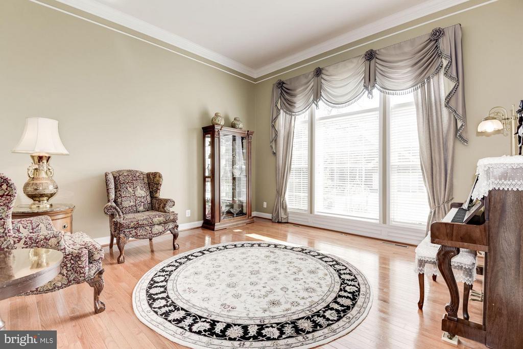 Living Room - 8136 BLUEBONNET DR, LORTON