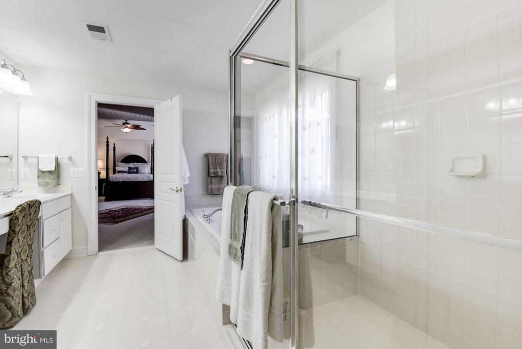 Bath (Master) - 8136 BLUEBONNET DR, LORTON