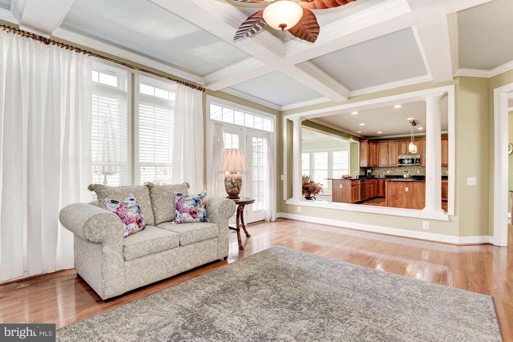 Family Room - 8136 BLUEBONNET DR, LORTON