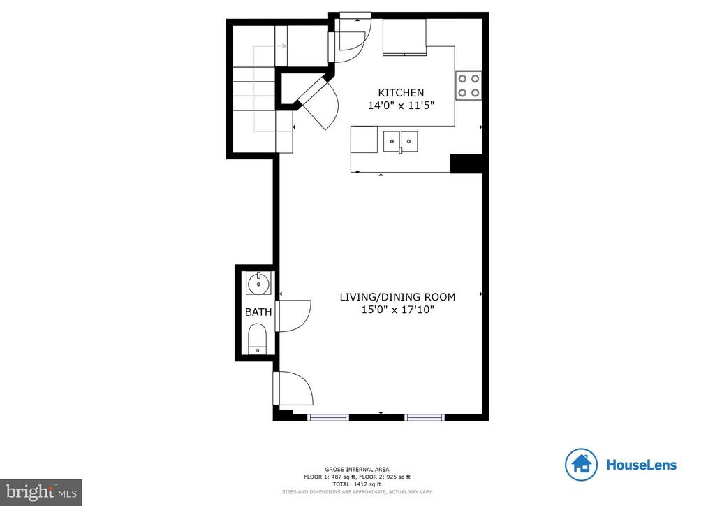 Place your furniture on this floor plan here - 5210 STREAM BANK LN #301G, GREENBELT