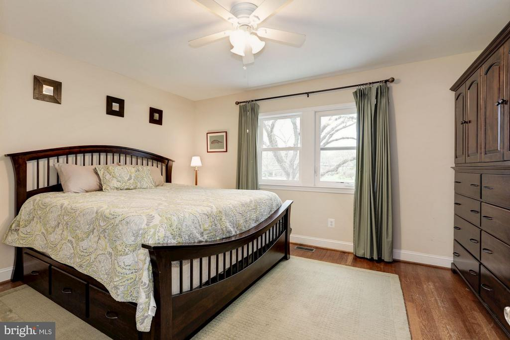 Large Bedroom with a King Size Bed - 4413 13TH ST NE, WASHINGTON