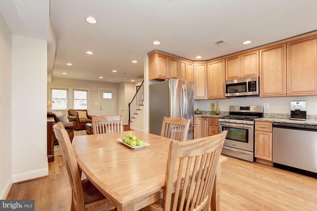 Dining Room - 4413 13TH ST NE, WASHINGTON