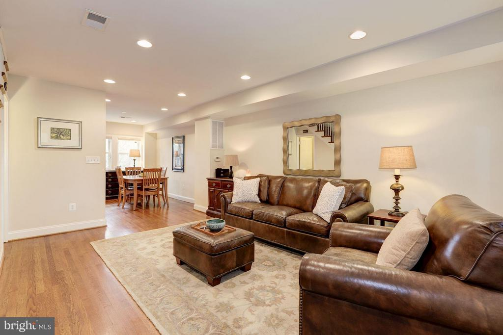 Living Room - 4413 13TH ST NE, WASHINGTON