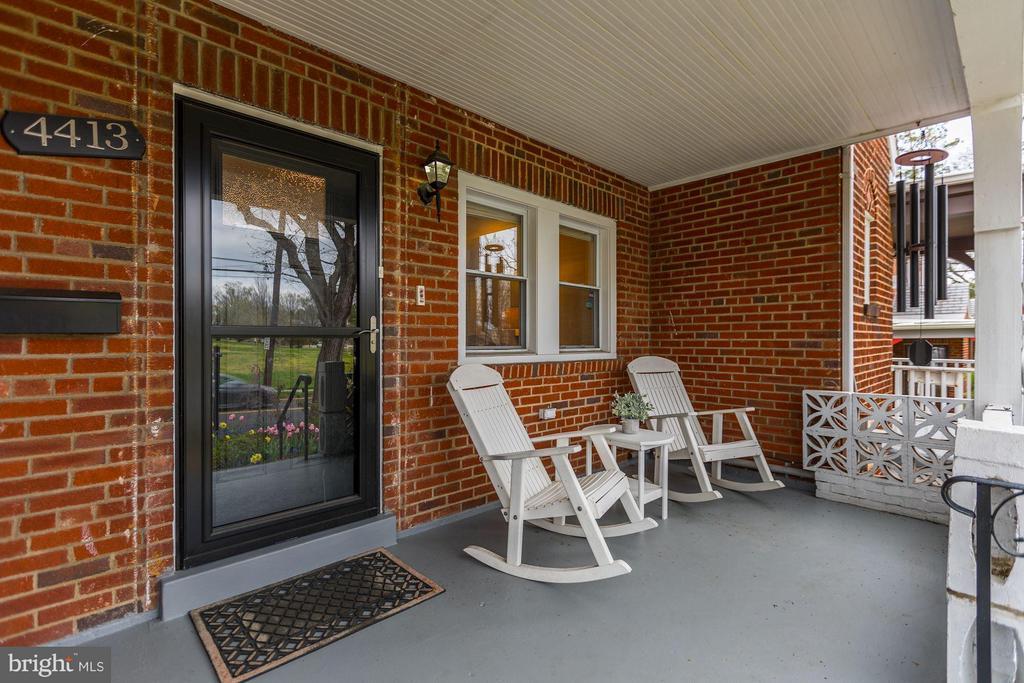 Inviting Front Porch - 4413 13TH ST NE, WASHINGTON