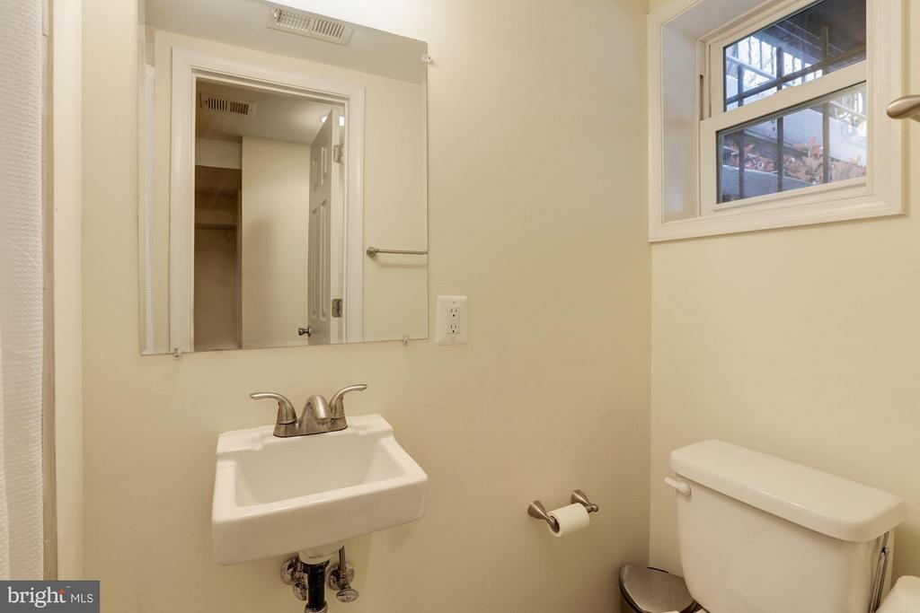 Lower Level Full Bath - 4413 13TH ST NE, WASHINGTON