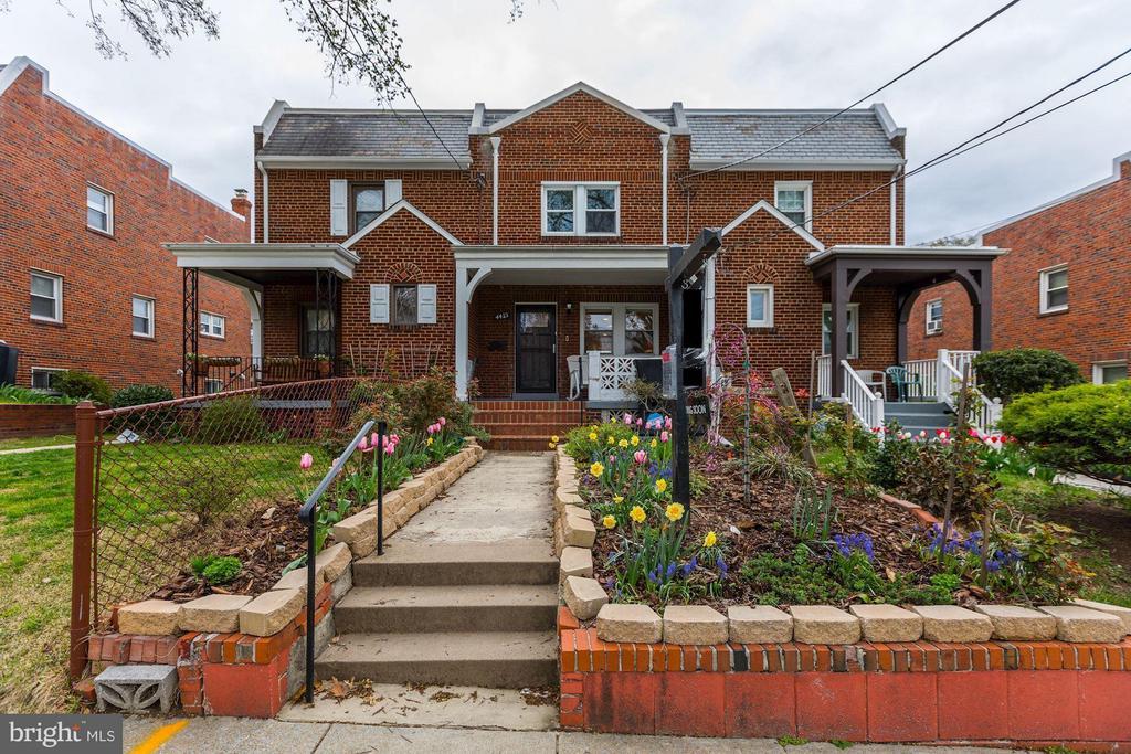 Exterior (Front) - 4413 13TH ST NE, WASHINGTON