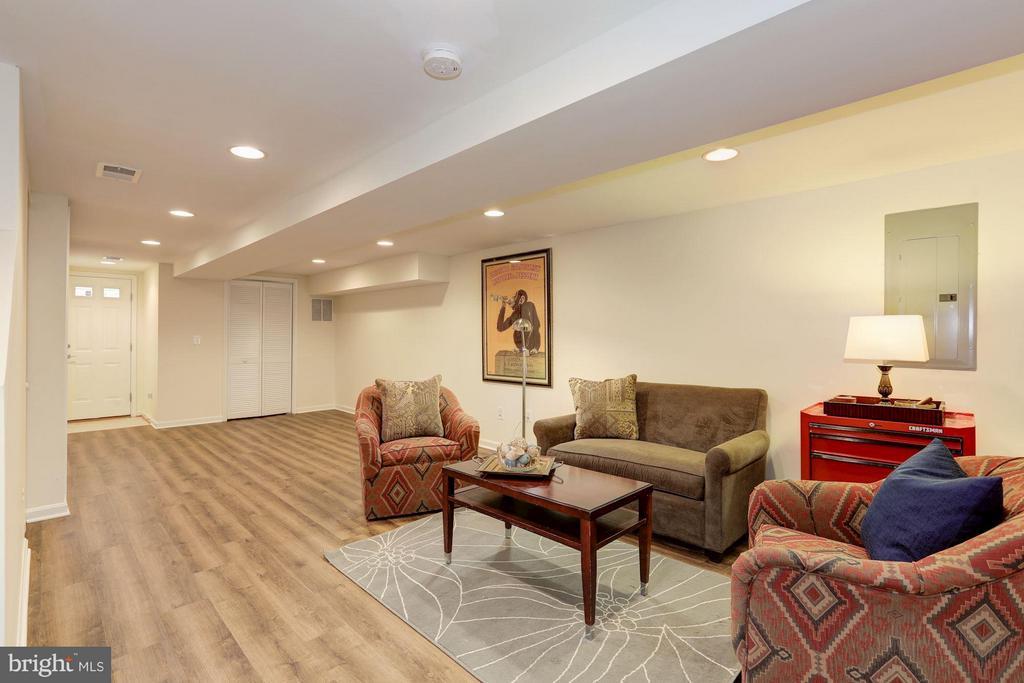Lower Level Family Room - 4413 13TH ST NE, WASHINGTON