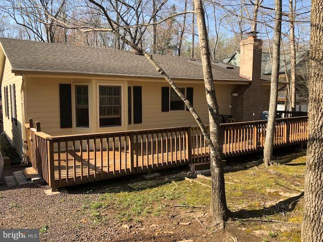 Spacious Deck - 602 GOLD VALLEY RD, LOCUST GROVE