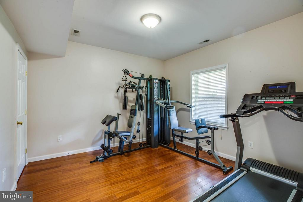 Basement exercise room or possible bedroom - 10114 CONSTITUTION CIR, KING GEORGE