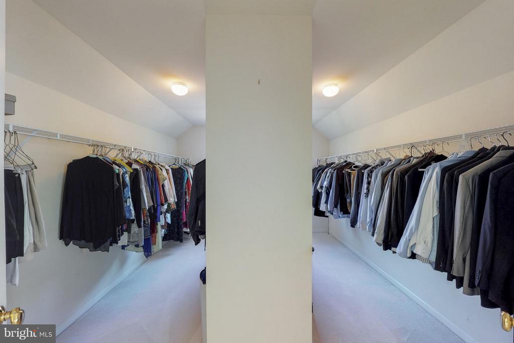 Master Walk In Closet - 1311 GATESMEADOW WAY, RESTON