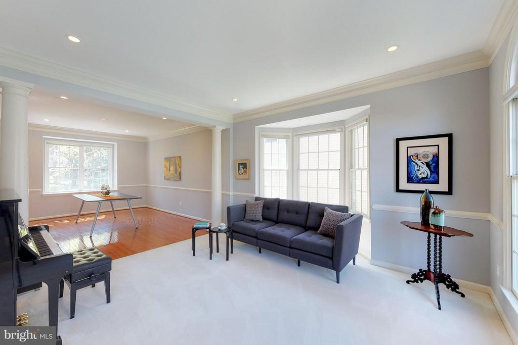 Living Room - 1311 GATESMEADOW WAY, RESTON