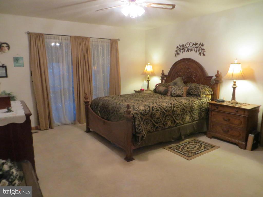 Bedroom (Master)-slider to porch - 209 CREEKSIDE DR, LOCUST GROVE