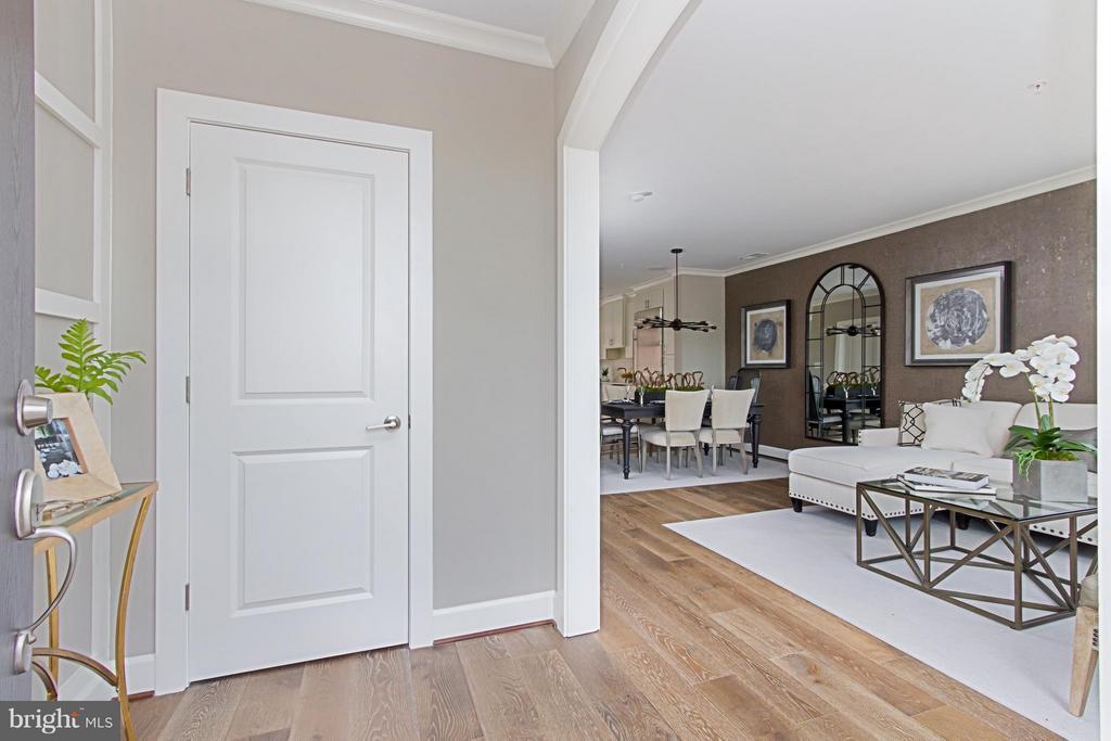 Spacious Entry Foyer - 4029 EAST ST, FAIRFAX