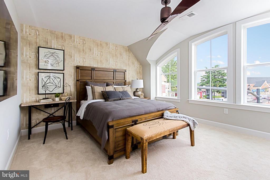3rd Bedroom on Loft Level - 4029 EAST ST, FAIRFAX