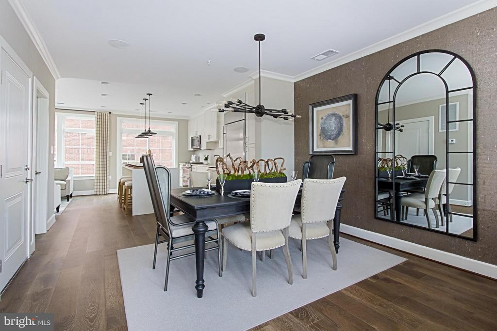 Generous Dining Space for Entertaining - 4029 EAST ST, FAIRFAX